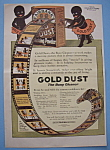 Vintage Ad: 1916 Gold Dust Cleaner