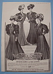 Vintage Ad: 1907 Wooltex Style Coats