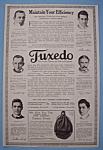 Vintage Ad: 1914 Tuxedo Tobacco For Pipe & Cigarette