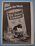 Vintage Ad: 1914 Old Dutch Cleanser