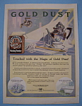 Vintage Ad: 1924 Fairbank's Gold Dust Washing Powder