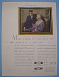 Click here to enlarge image and see more about item 12898: Vintage Ad: 1927 Elgin Watches