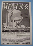 Vintage Ad: 1923 20 Mule Team Borax