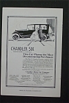 1916 Chandler Motor Car Company w/People By a Car