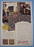 Vintage Ad: 1923 Gold Seal Congoleum Art Rugs