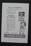 1916 Campbell Soup with Campbell Kid Holding a Can