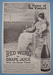 Vintage Ad: 1914 Red Wing Grape Juice
