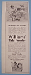 Vintage Ad: 1914 Williams' Talc Powder