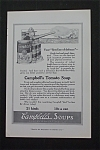 1916 Campbell Soup with Campbell Kid Shooting Cannon