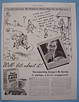 Vintage Ad: 1934 Post's 40% Bran Flakes