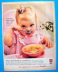 Vintage Ad: 1960 Campbell's Chicken Vegetable Soup