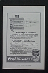 1916 Campbell Soup with Campbell Kid Writing on Wall