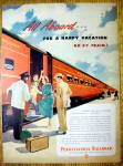Click to view larger image of Vintage Ad: 1949 Pennsylvania Railroad (Image1)