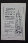 Click here to enlarge image and see more about item 1299: Vintage Ad: 1916  Bankers  Trust  Company