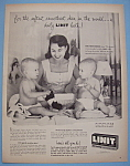 Vintage Ad: 1955 Linit Starch w/ Mrs. Herb Shriner