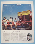 Click here to enlarge image and see more about item 13009: Vintage Ad: 1955 Timken Roller Bearings