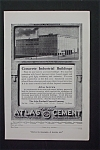 1916 Atlas Portland Cement with Commonwealth Ice