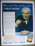 Click to view larger image of 1937 Phillips Soups with Dining with George Rector (Image2)