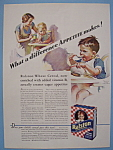 Vintage Ad: 1932 Ralston Wheat Cereal By F. T. Hunter