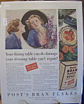 Vintage Ad: 1930 Post's Bran Flakes