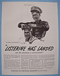 Click here to enlarge image and see more about item 13055: Vintage Ad: 1941 Listerine
