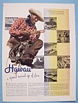 Click here to enlarge image and see more about item 13063: Vintage Ad: 1938 Hawaii