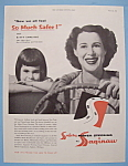 Click to view larger image of Vintage Ad:1955 Saginaw Power Steering w/Kitty Carlisle (Image1)