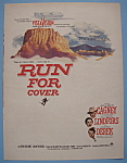Vintage Ad: 1955 Run For Cover with James Cagney