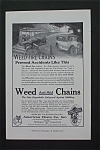 1916 Weed Tire Chains with Tire Chains Prevent Accident