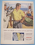 Vintage Ad: 1954 Arrow Sport Shirts By Dormont