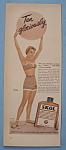 Vintage Ad: 1954 Skol Suntan Lotion