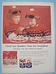 Vintage Ad: 1960 Quaker Oats Cereal