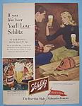 Vintage Ad: 1953 Schlitz Beer