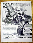 Vintage Ad: 1940 U. S. Royal Master Tires with Lily May