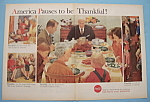 1959 Coca-Cola (Coke) w/America Pauses to be Thankful