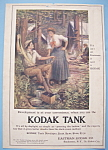 Click here to enlarge image and see more about item 13133: Vintage Ad: 1907 Kodak Tank