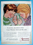 Click here to enlarge image and see more about item 13144: Vintage Ad: 1960 Anaconda Aluminum