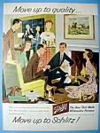 Vintage Ad: 1958 Schlitz Beer
