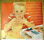 Click to view larger image of 1959 Kellogg's Corn Flakes Cereal with Little Boy (Image2)