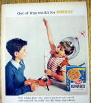 Click to view larger image of 1959 Post Alpha Bits Cereal with Boy in Space Suit (Image2)