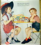 Click to view larger image of 1959 Post Tens Snack Pak with Little Girl & Little Boy (Image2)