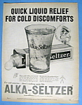 Vintage Ad: 1959 Alka Seltzer with Speedy