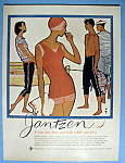 1959 Jantzen with People Wearing Seagoing Fashions