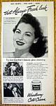 Vintage Ad: 1948 Woodbury Cold Cream w/ Ava Gardner