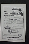 1916 The Quaker Oats Company w/Girl Eating Bowl of Oats