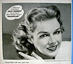 Click to view larger image of Vintage Ad: 1951 Rayve Shampoo with Sally Forrest (Image1)