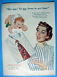 Vintage Ad: 1952 Arrow Shirts with Baby Cupid