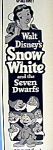 1952 Walt Disney's Snow White & The 7 Dwarfs