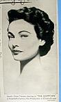Vintage Ad: 1954 Lux Toilet Soap w/ Gene Tierney