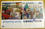 Click to view larger image of Vintage Ad: 1960 Goodyear Products (Image1)